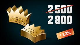 CRSED: F.O.A.D. - 2500 + 300 Golden Crowns